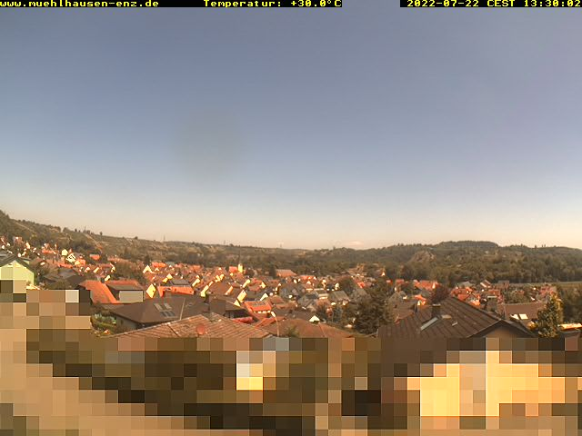 Mühlacker-Mühlhausen Skyline